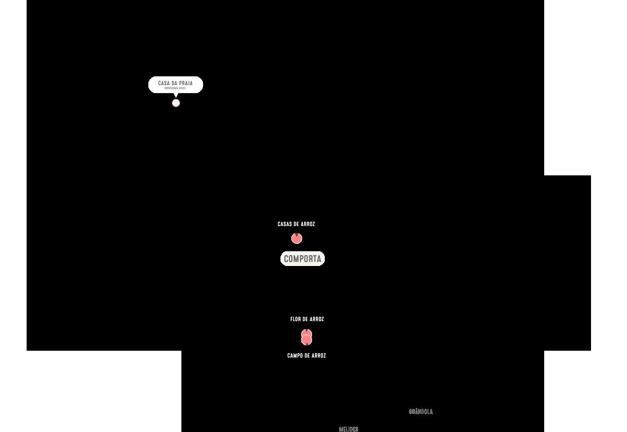 Mapa de Comporta